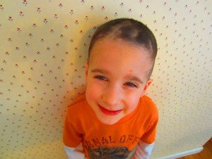 Which is worse...Ben's try at a haircut or Dad's attempt at a repair job?  You be the judge!