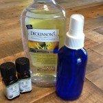 homemade body spray ingredients