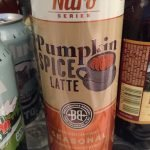 pumpkin coffee stout...mmm...I love fall flavors!