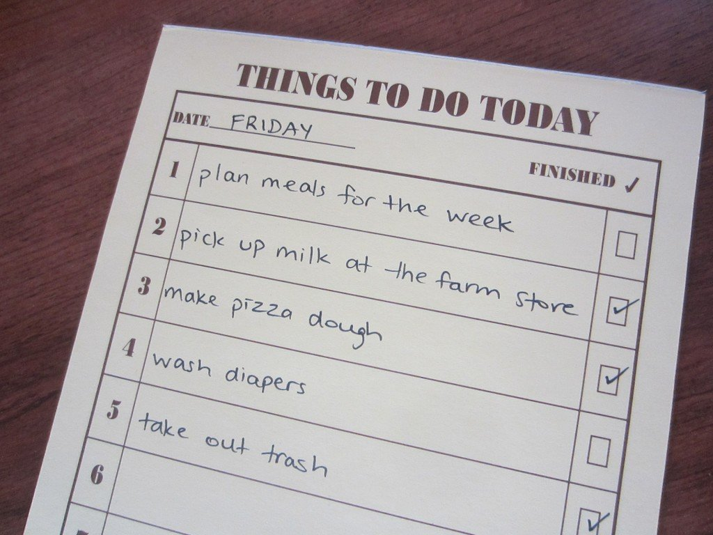"""comparing the benefits of a to-do list versus a """"got done"""" list"""