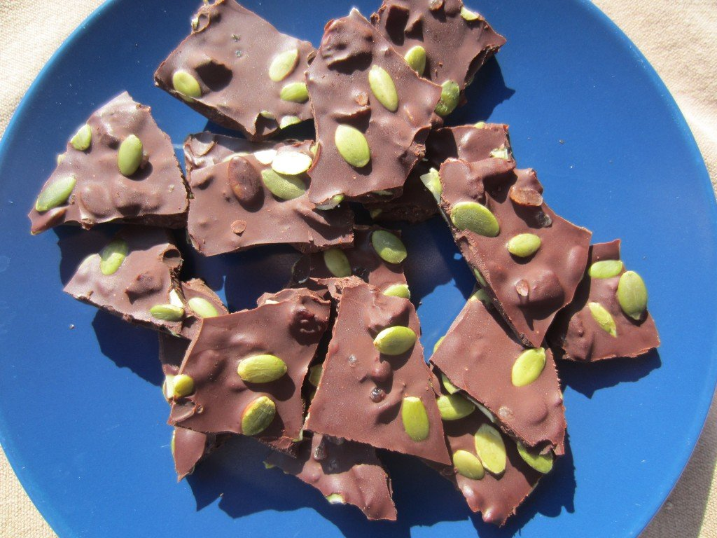 Chili Chocolate Bark
