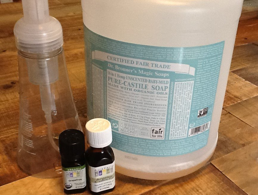 homemade hand soap ingredients