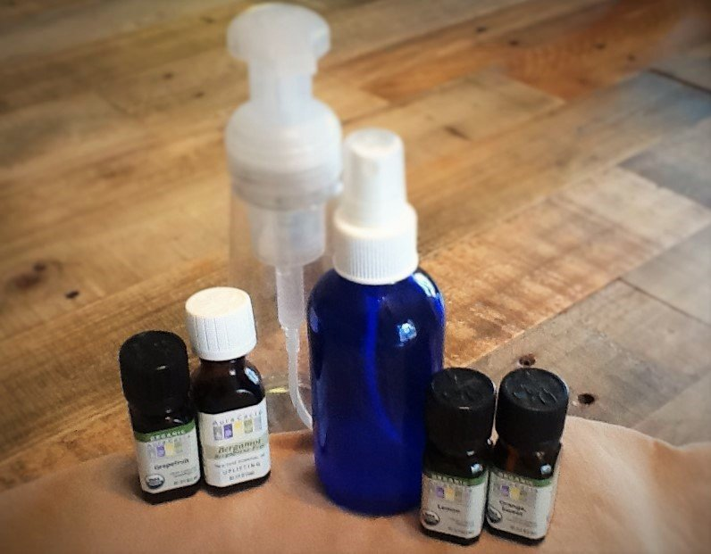 Homemade Hand Soap and Body Spray