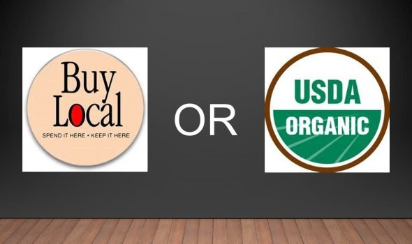 eat local or organic?
