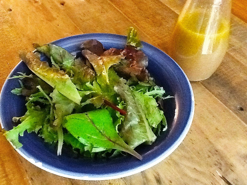 homemade salad vinaigrette