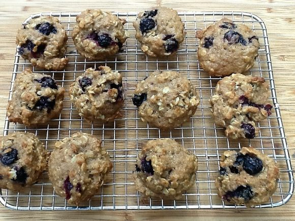Homemade Blueberry Cookies