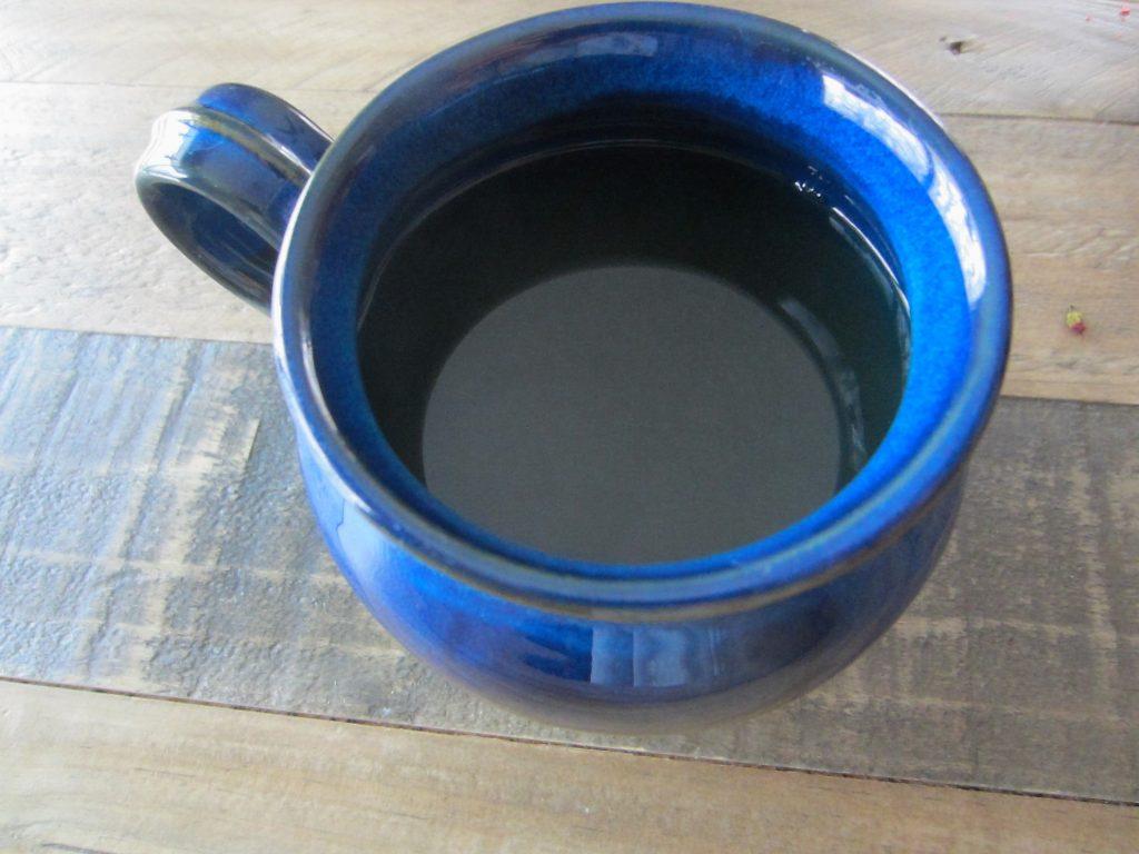 a cup of homemade Cinnamon Ginger Comfort Tea