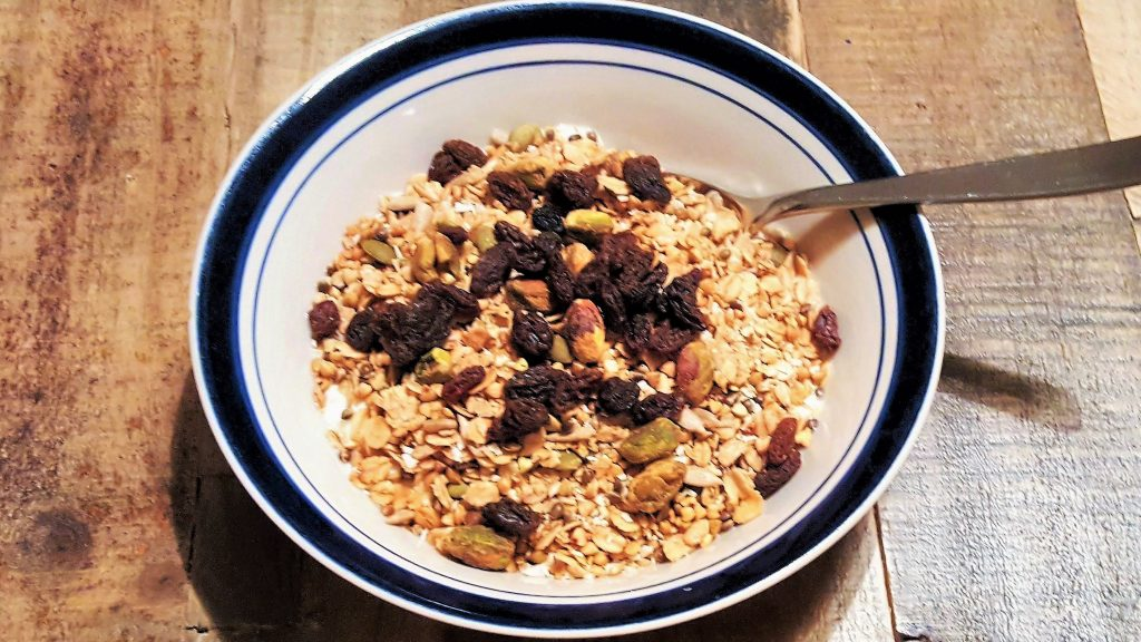 homemade buckwheat granola