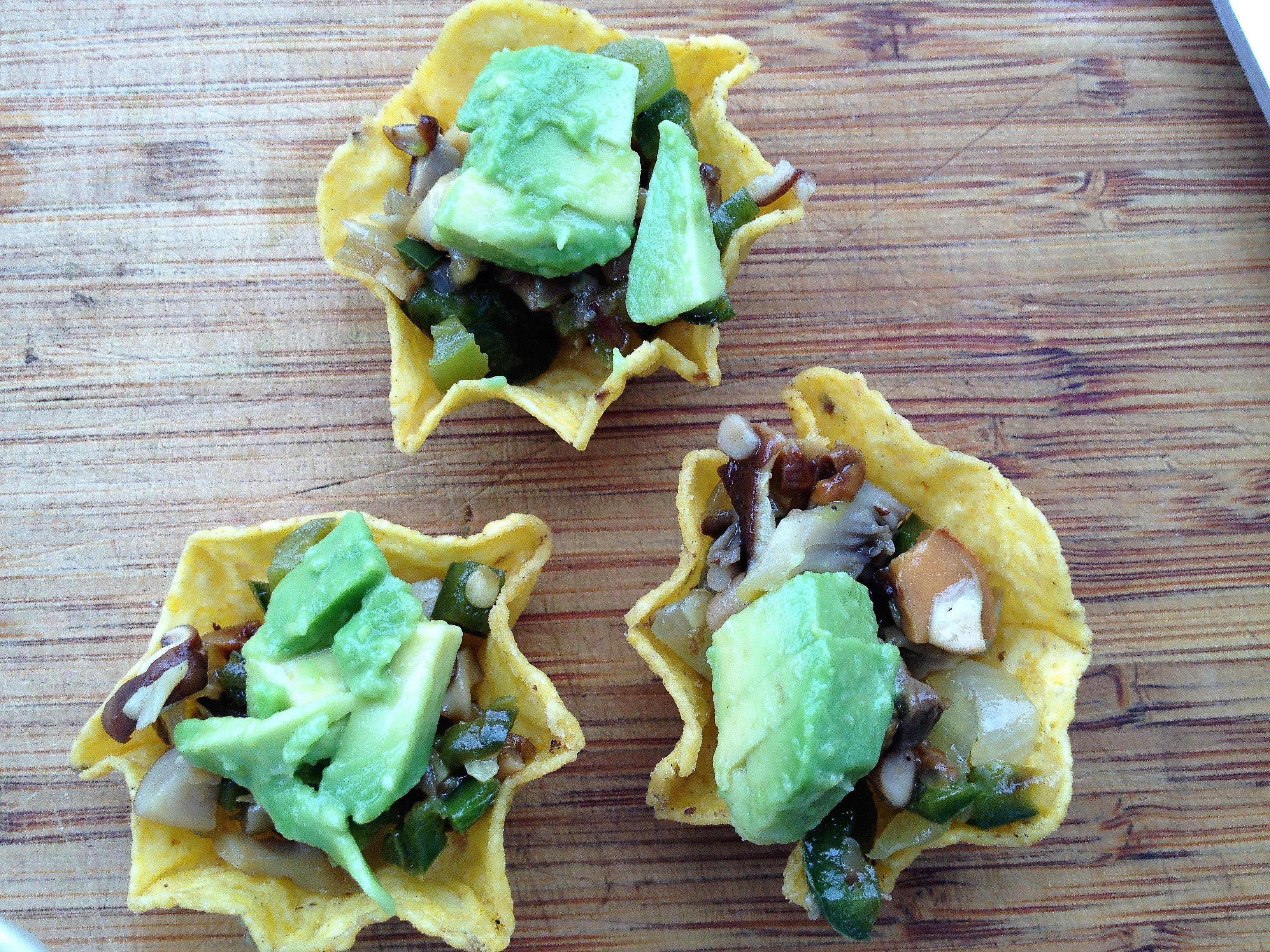 Mushroom Tacos (sample size)