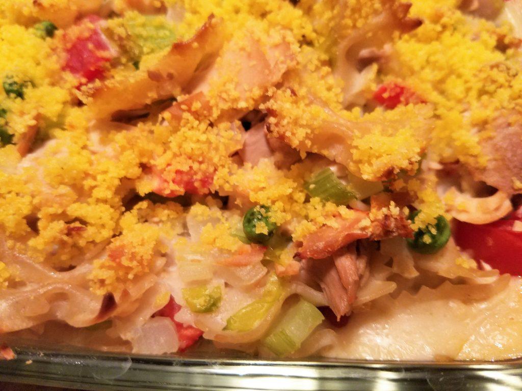 Veggie Tuna Noodle Casserole - homemade from scratch