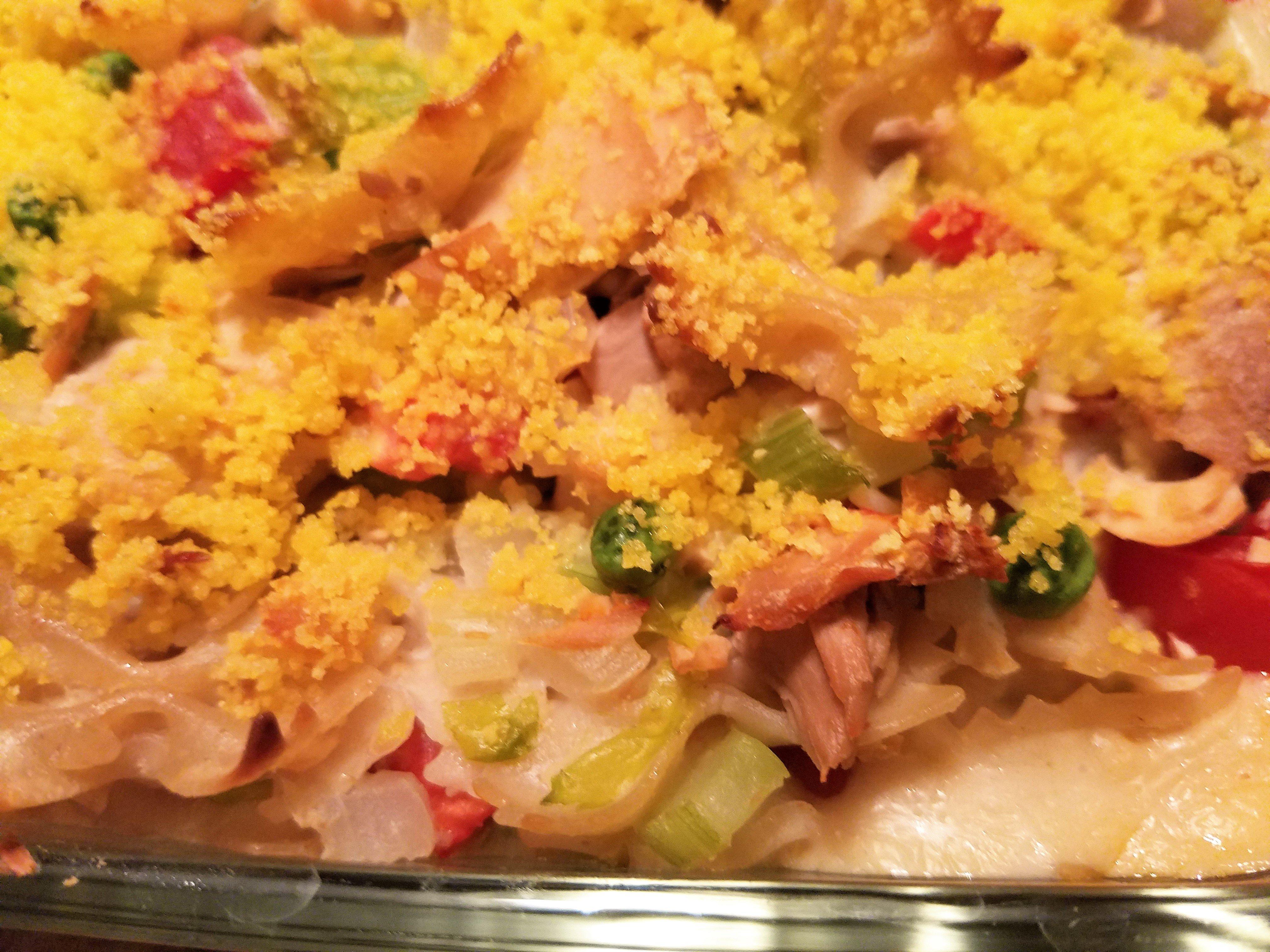 Veggie Tuna Noodle Casserole