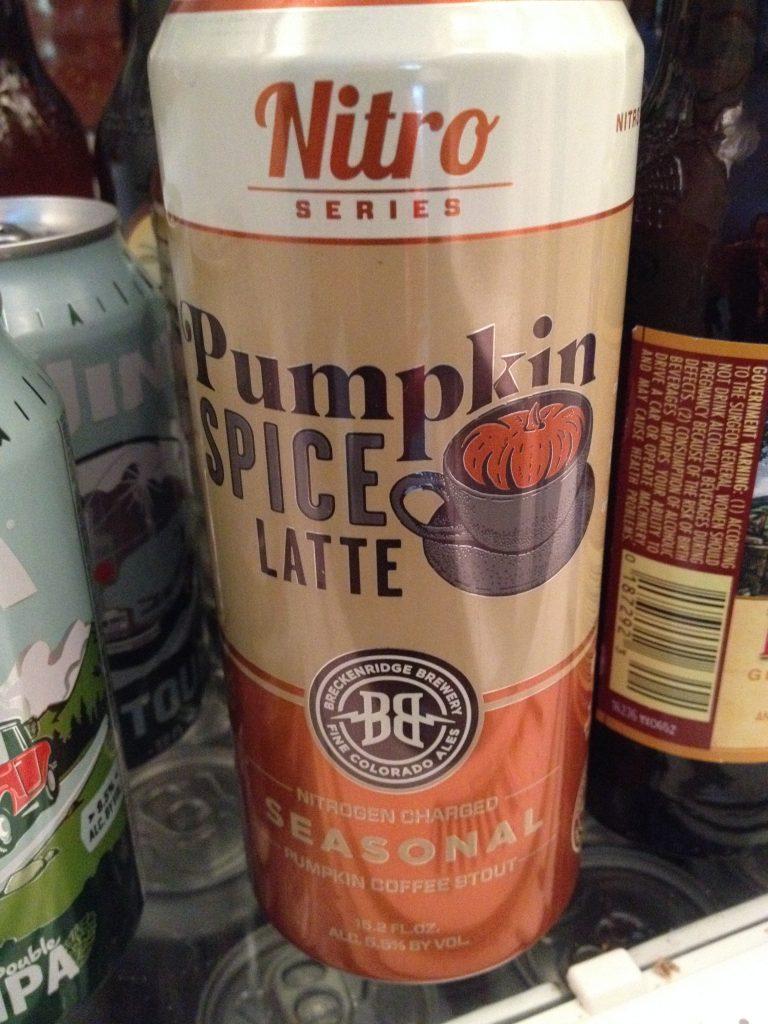 pumpkin coffee stout...mmm...I love fall flavors!