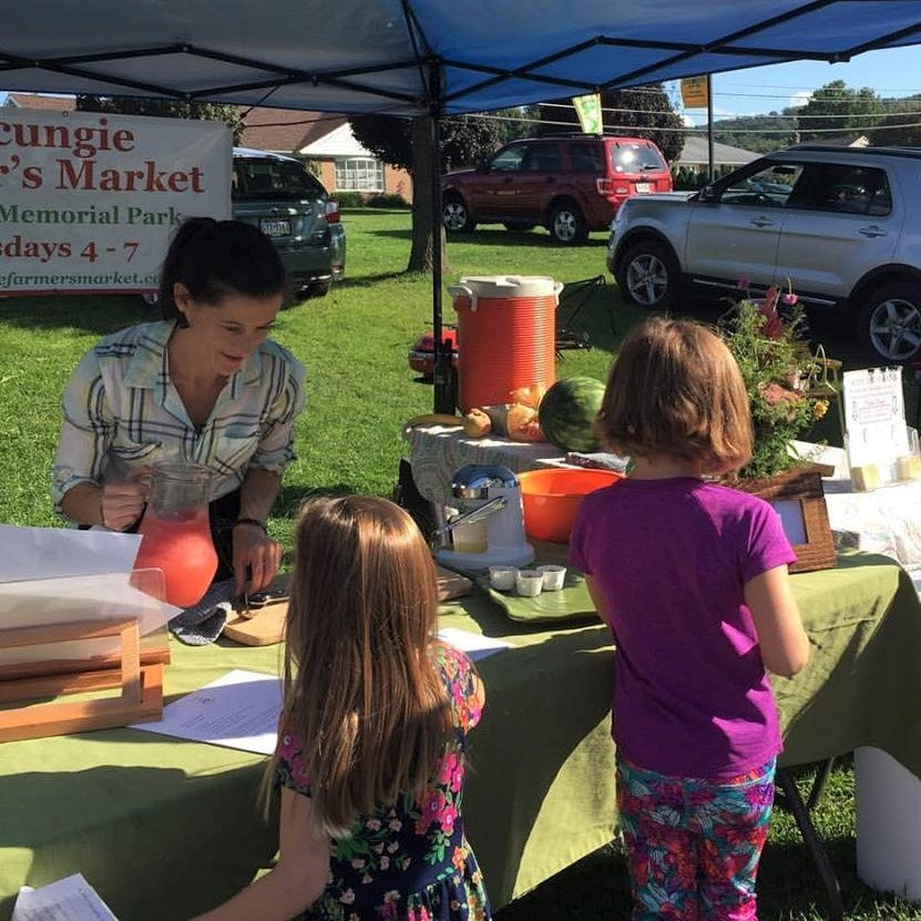 Life From Scratch At The Macungie Farmers' Market In September 2017