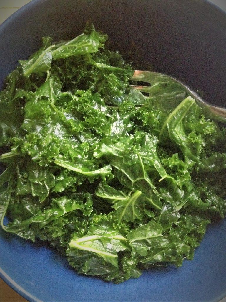basic massaged kale salad