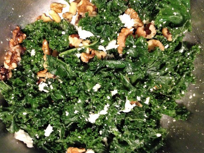 Massaged Kale Salad With Ginger-kombucha Vinaigrette