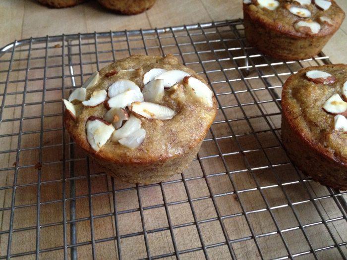 Gluten-Free Banana-Almond Muffins