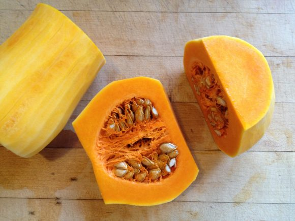 how to peel and cube a butternut squash - step 5