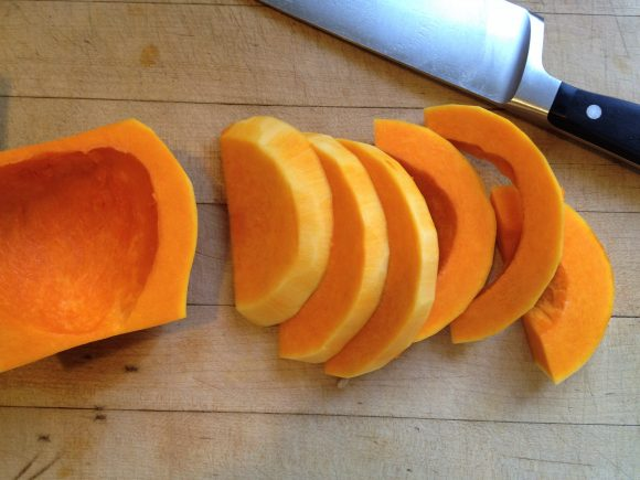 how to peel and cube a butternut squash - step 7