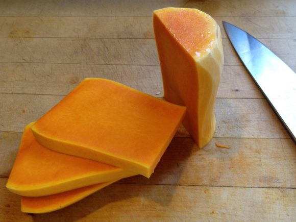how to peel and cube a butternut squash - step 9