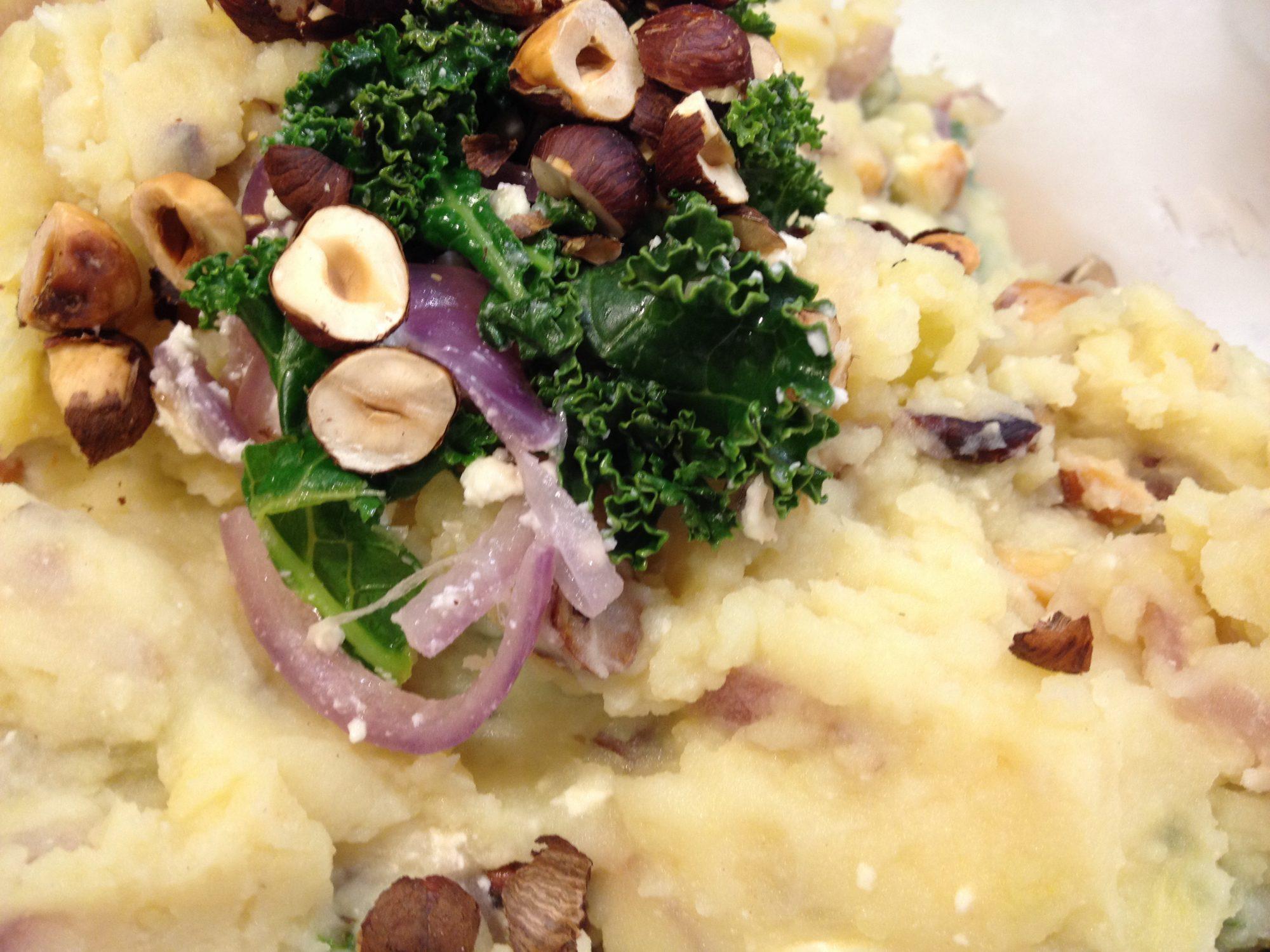Kale and Potato Mash