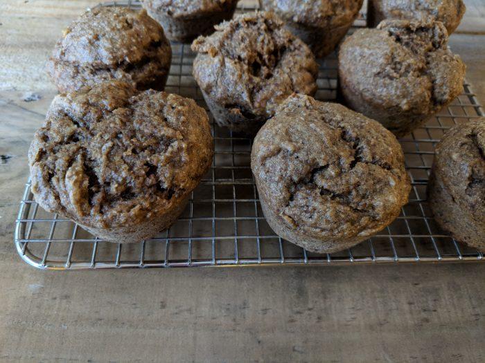 Banana Flax Muffins