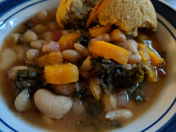 Slow Cooker Tuscan Soup