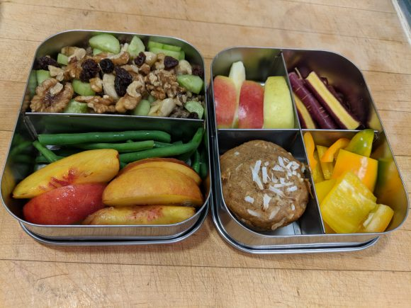 Packing Healthy Lunches - using leftovers