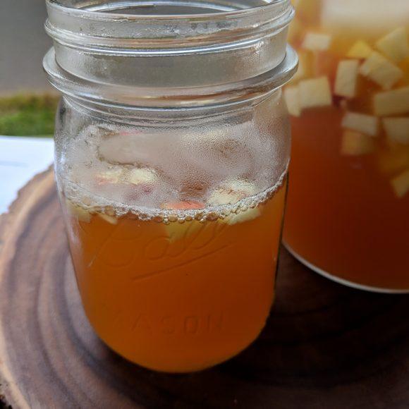 Mulled Apple Cider Iced Tea