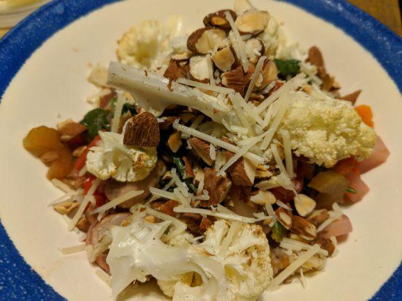 Warm Veggie And Farro Salad