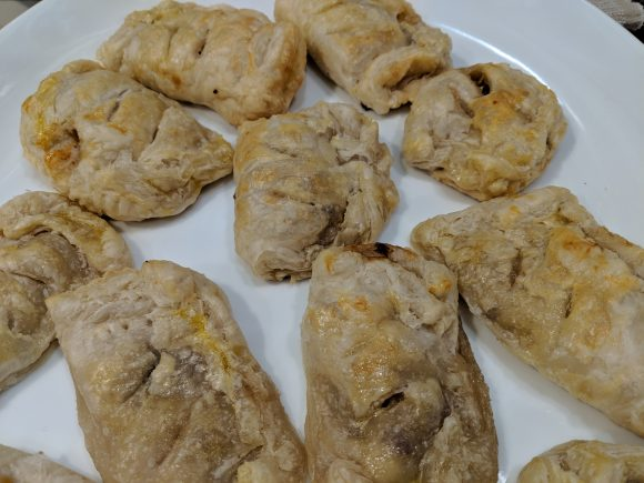 Apple-Cheddar-Cranberry Turnovers