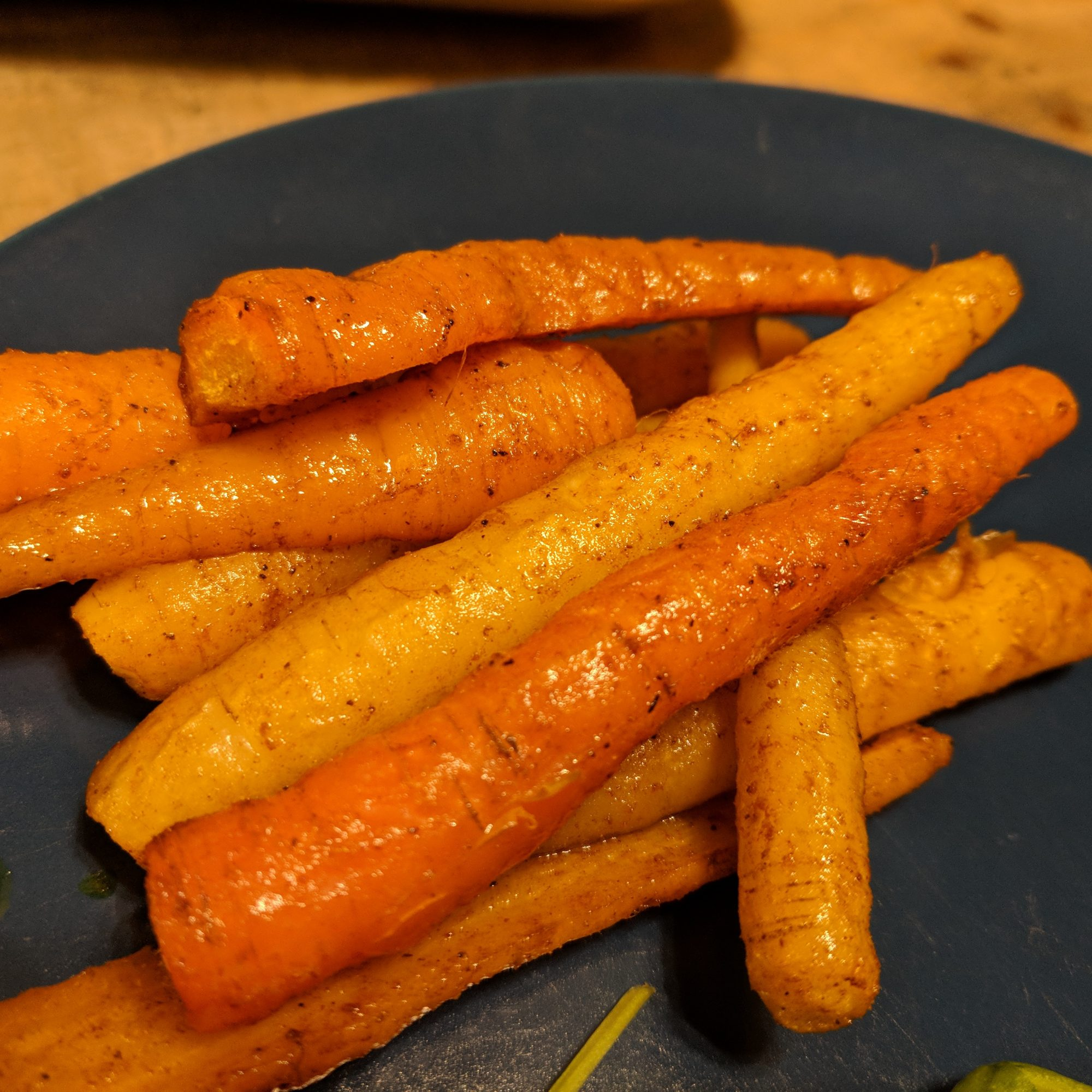 Spice-Roasted Carrots