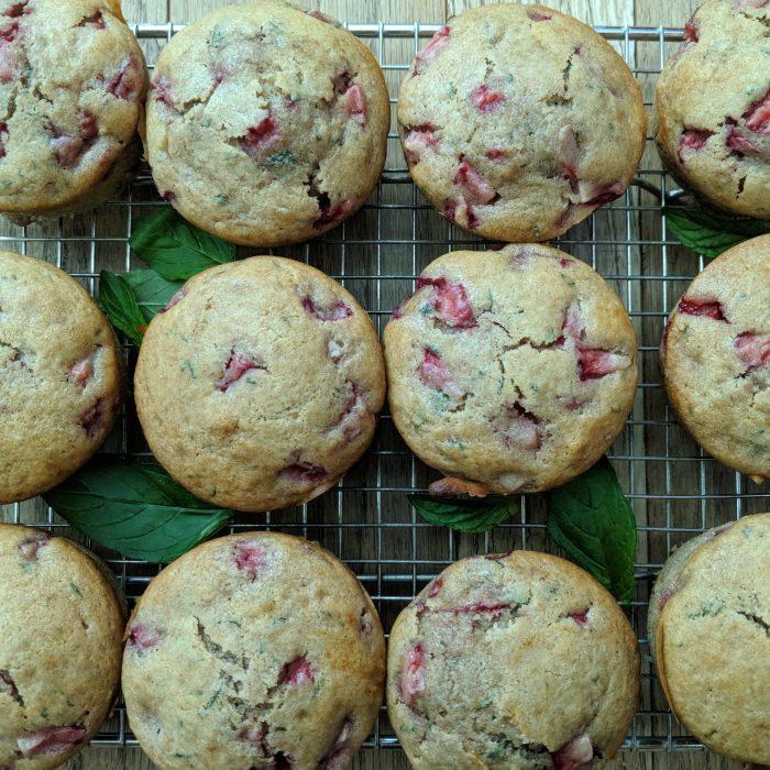 Mango Chai Muffins