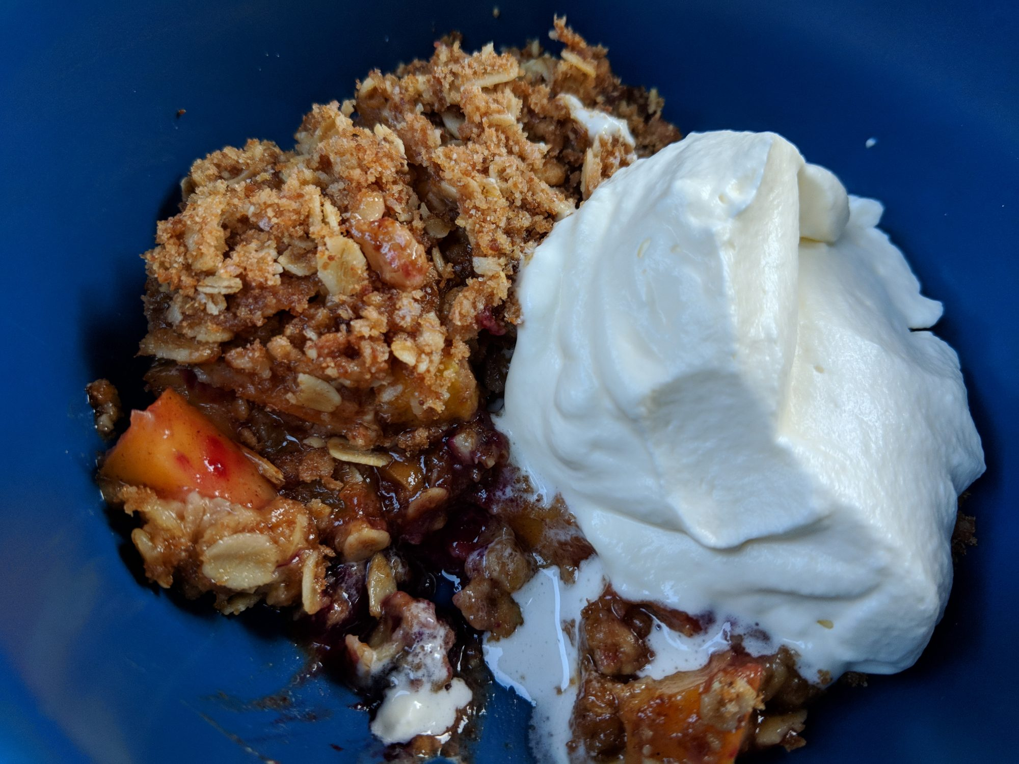 Spicy Fruit Crisp