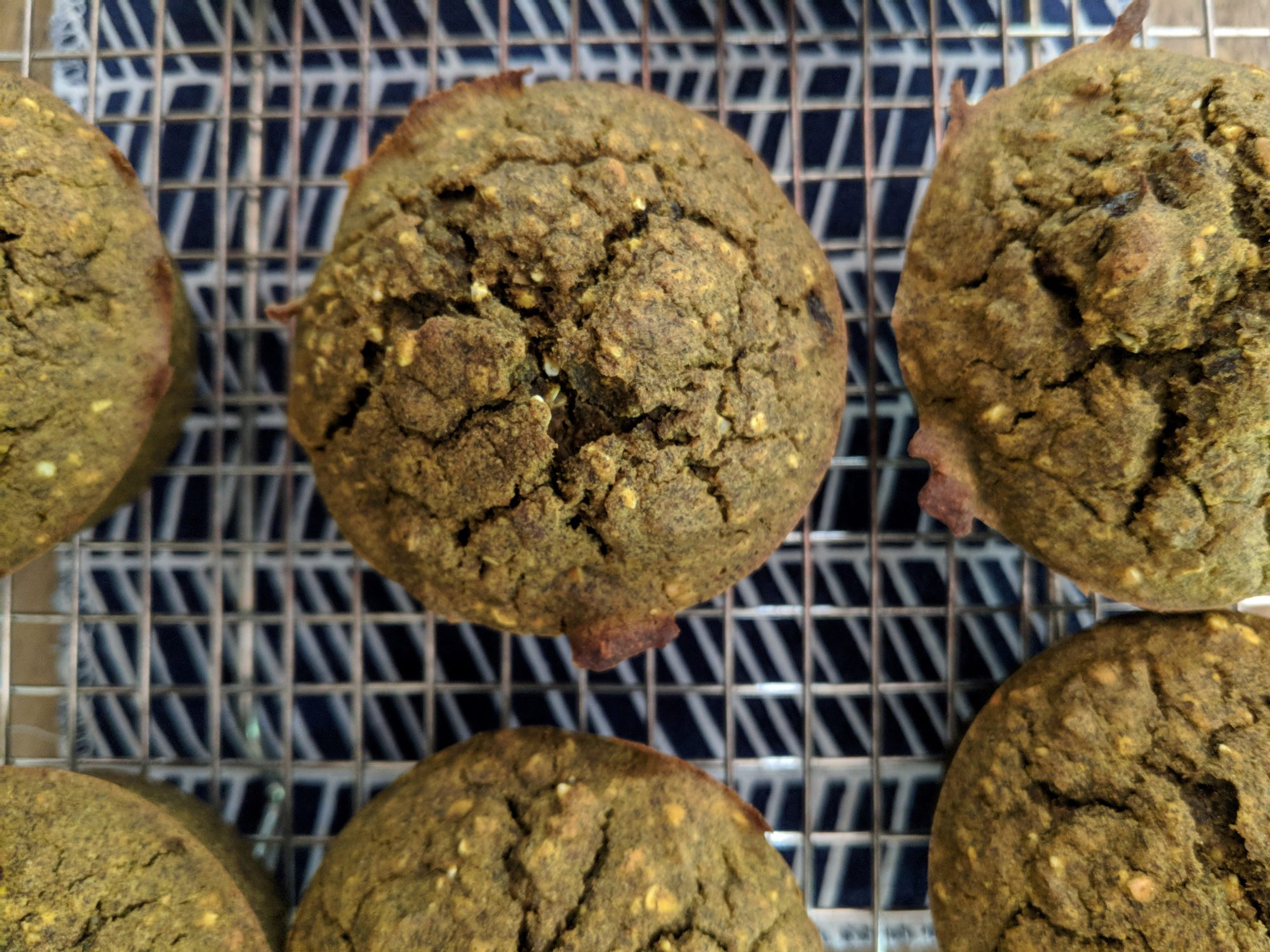 Raisin-Pecan Buckwheat Muffins