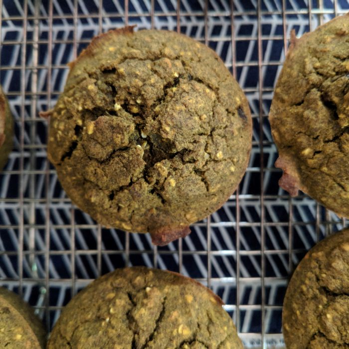 Raisin-Pecan Buckwheat Muffins